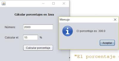 Cómo calcular porcentaje de un número en Java