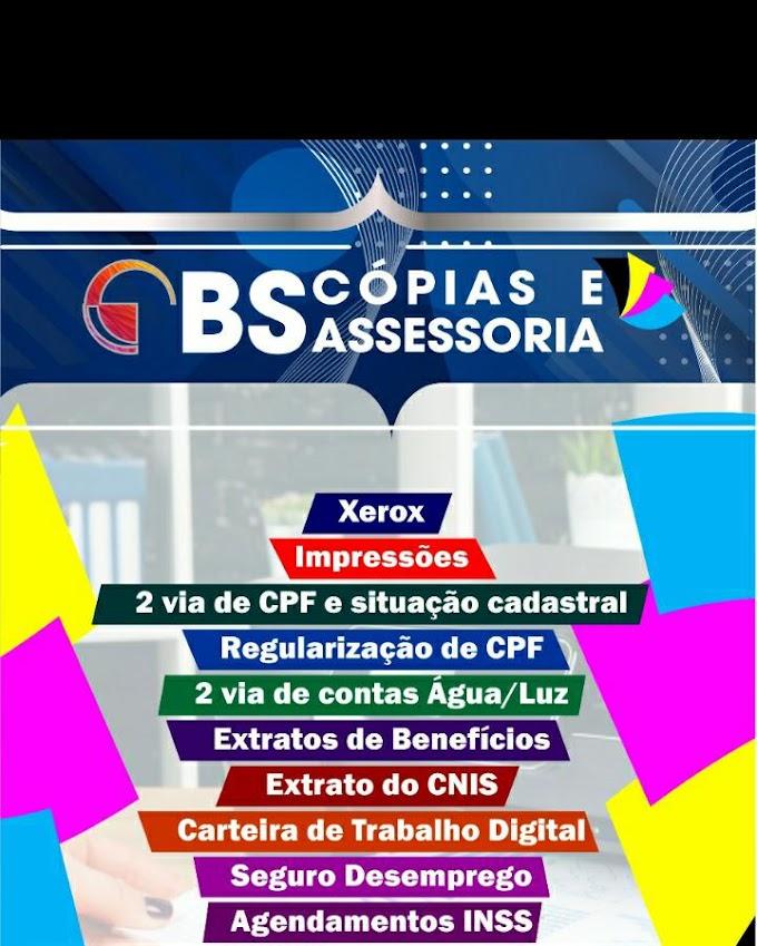 Escritório BS cópias e Assessoria em São Bernardo-MA