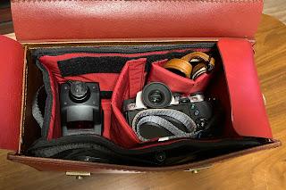 IND2-A200 のおかげでカメラを安全に運ぶことができる