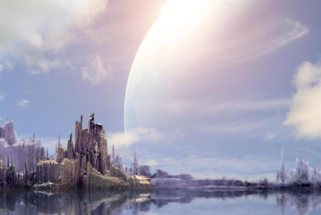 Hay dos planetas en donde esta escena sería posible