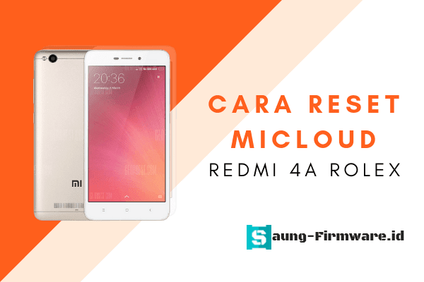 Solusi lupa password Mi cloud Redmi 4a