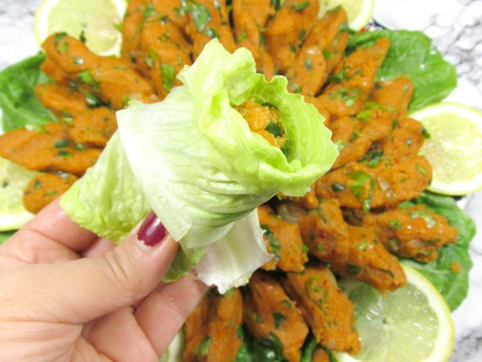 Rezept: Türkische Linsen Köfte - Vegetarische Version Wie man sie verzehrt