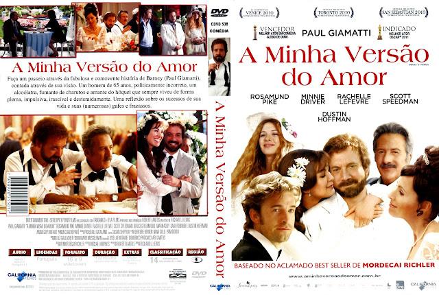 Capa DVD A Minha Versão do Amor