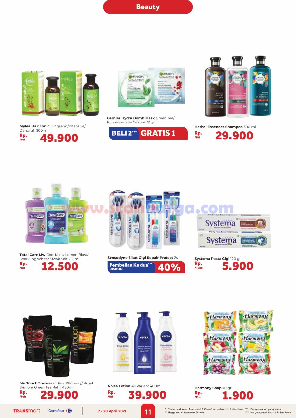 Katalog Promo Carrefour Transmart 7 - 20 April 2021 11