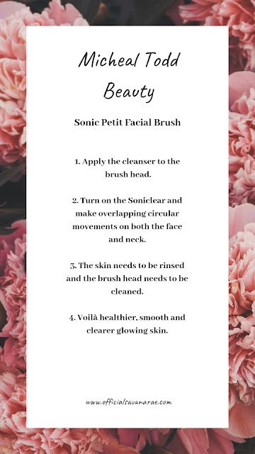HOW TO USE THE SONICLEAR PETITE ANTIMICROBIAL SONIC SKIN CLEANSING SYSTEM BY MICHAEL TODD BEAUTY