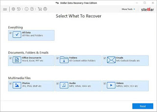 files which you want to recover