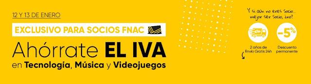 Mejores ofertas Ahórrate el IVA de Fnac.es
