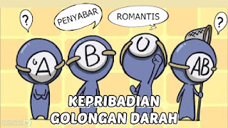 Golongan Darah O = Romantis, Golongan Darah B = Penyabar