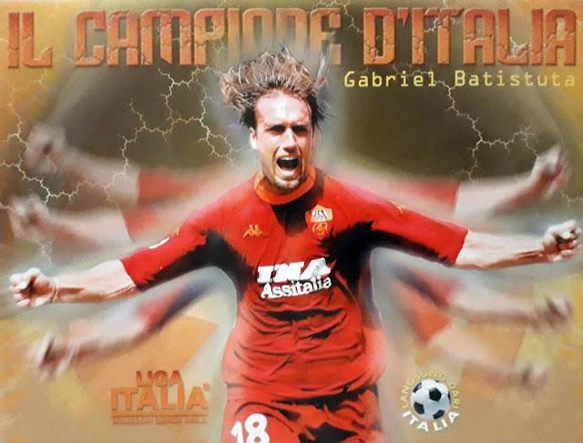 GABRIEL BATISTUTA OF AS ROMA
