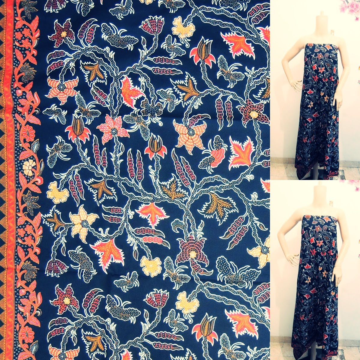 Palastri Shop   Gabriella Shop  kain batik cantik murah motif asam hitam b3fd94d6c5