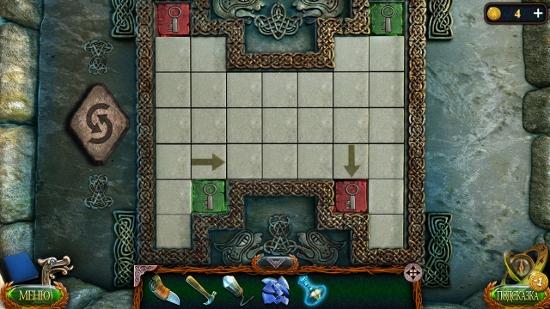 все плитки с ключами расставлены по местам в игре затерянные земли 4 скиталец