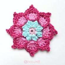 Kamila Flower (FREE Crochet Pattern)