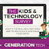 Kids and Technology Survey #infographic