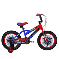 16 element marvel spider-man lisensi bmx