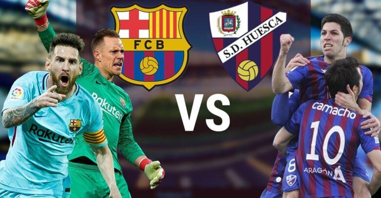بث مباشر برشلونة ضد ويسكا