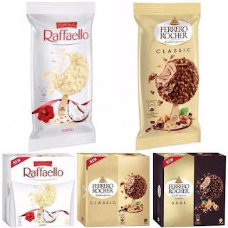 Aiskrim Ferrero Rocher