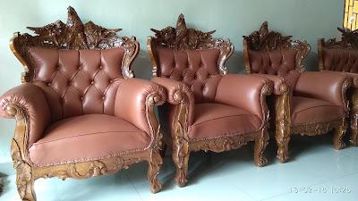 sofa ukir garuda