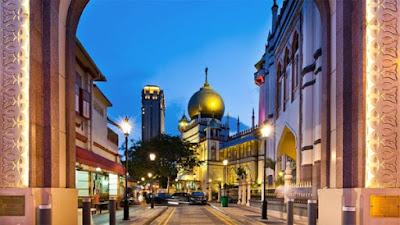 Nhà thờ Hồi giáo Sultan.