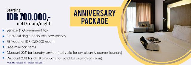 Anniversary Package Novotel Batam