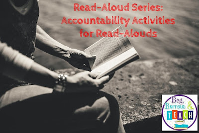 Accountability Activities for Read-Alouds: How to Check for Reading Comprehension