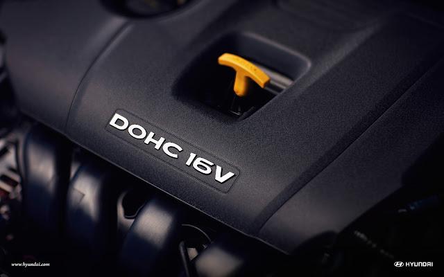 Động cơ DOHC 16V 2.0 lít sinh công suất tới 147 mã lực