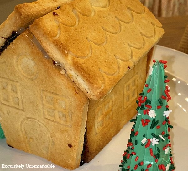 Sugar Cookie Gingerbread House