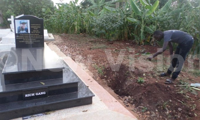 Socialite's grave 'dug up' after money buried with him