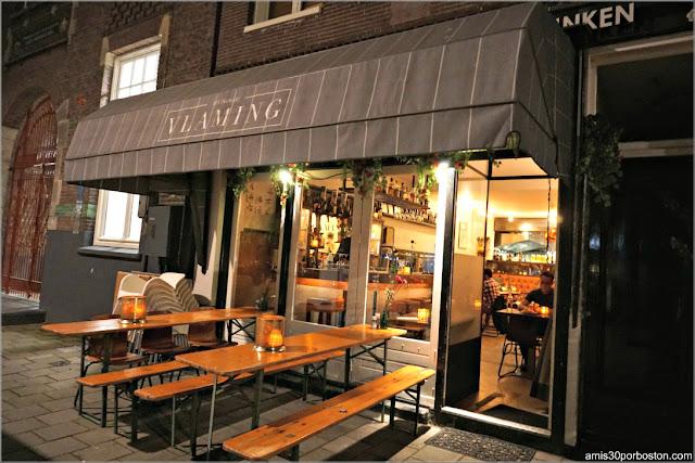 Restaurant Vlaming en Amsterdam