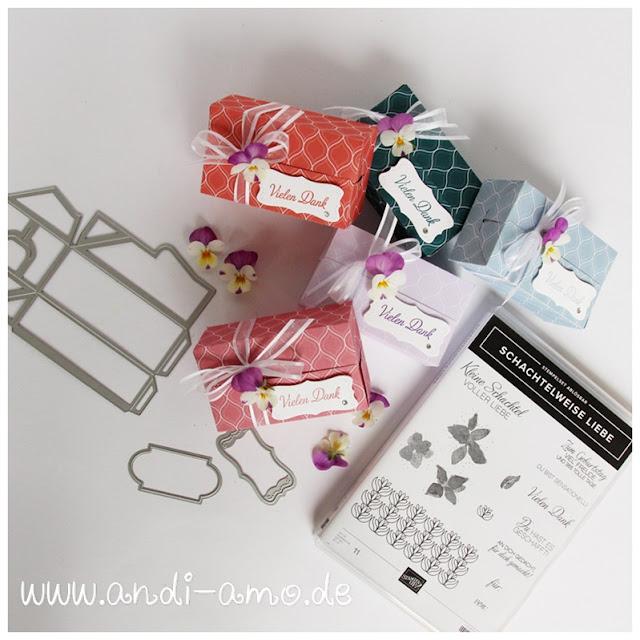 Stampin Up Schachtelweise Liebe Perfekte Päckchen