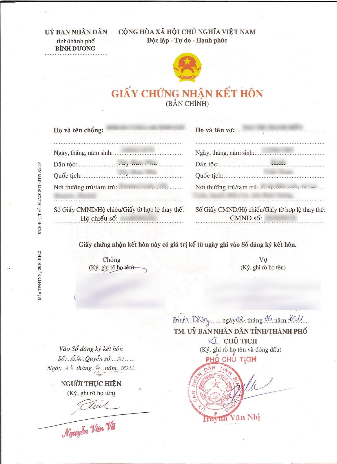 Vietnamese marriage essay
