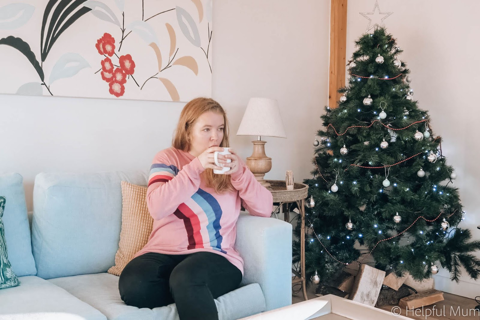Relaxing at Christmas