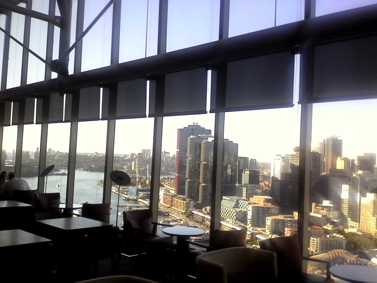 Dont read this crap 2018 n e view from club lounge on level 35 sofitel darling harbour the vaulted ceiling is spectacular solutioingenieria Image collections