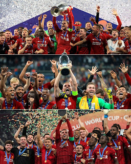 Liverpool are the first English team to complete the continental treble