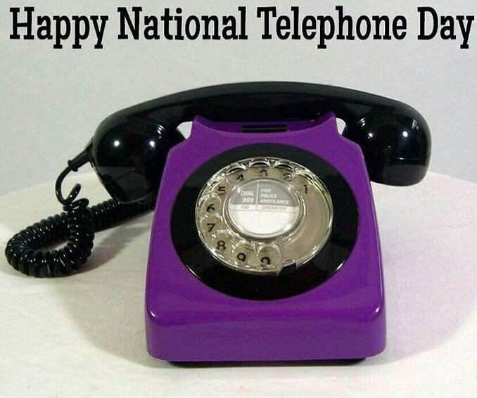 National Telephone Day Wishes Images