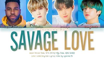 Savage Love Song Lyrics
