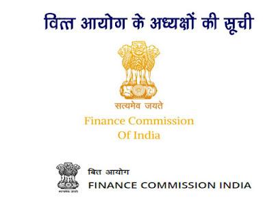 वर्तमान में वित्त आयोग के अध्यक्ष कौन हैं