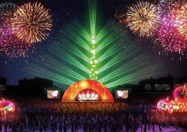 Natal Sempre Monumental, na Torre de TV, vai até 6 de janeiro. Veja as atrações