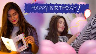 Beautiful Ayeza Khan celebrates her birthday in different style