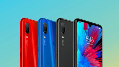 Xiaomi Redmi Note 7 Bodi dan Desain
