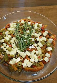 Simple Roasted Pepper Salad 2 ways!