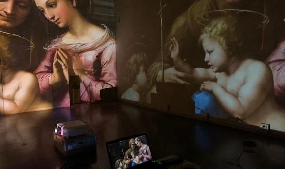 Perugia: on line con l'arte di Raffaello con spettatori da ogni parte del mondo