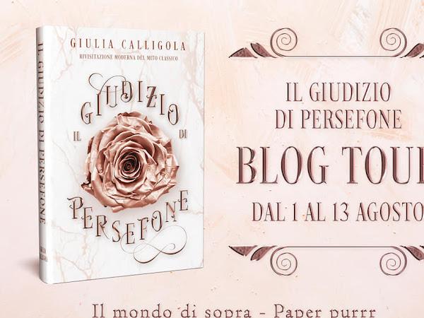 Blog Tour - Recensione - Il Giudizio di Persefone di Giulia Calligola