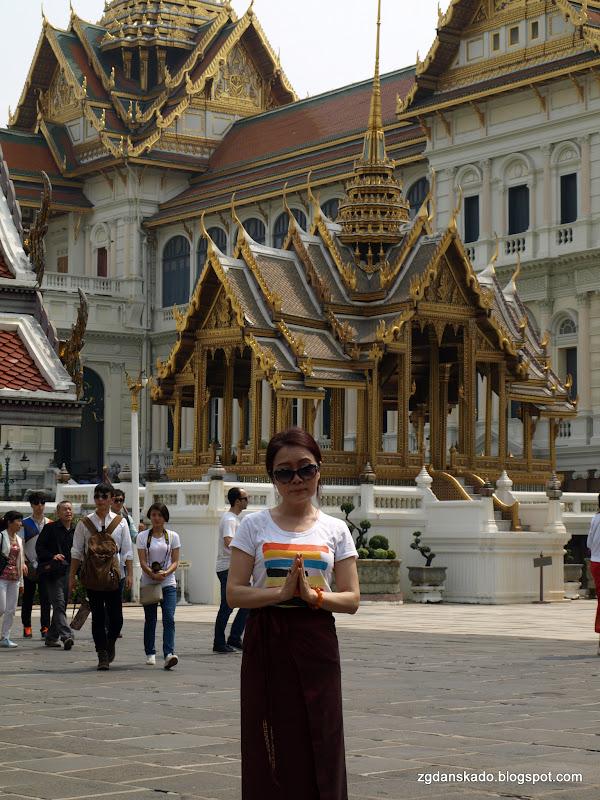 Bangkok - Grand Palace (Pałac Królewski)