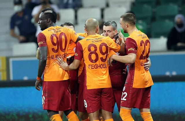 ملخص واهداف مباراة جالطة سراي وهاتاي سبور (2-1) الدوري التركي