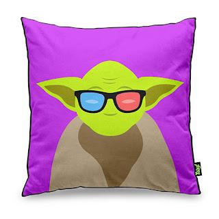 Almofada Mestre Yoda Star Wars
