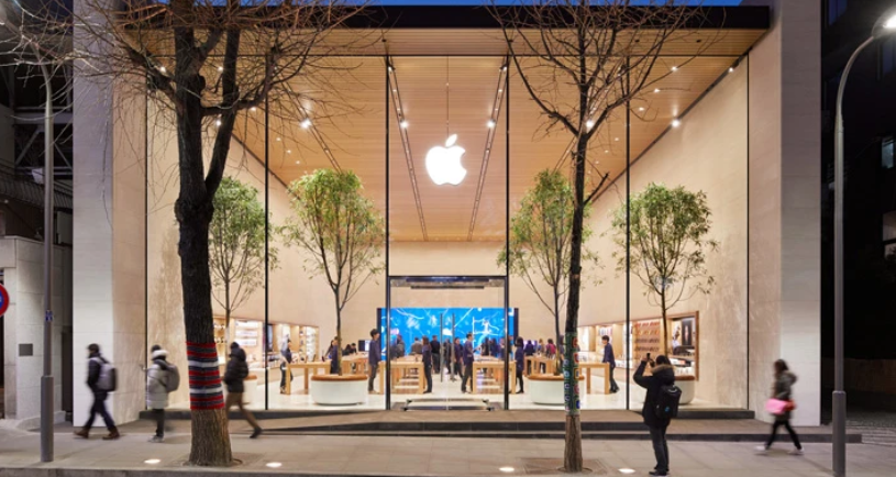 Semua 270 Apple Store A.S. sekarang buka