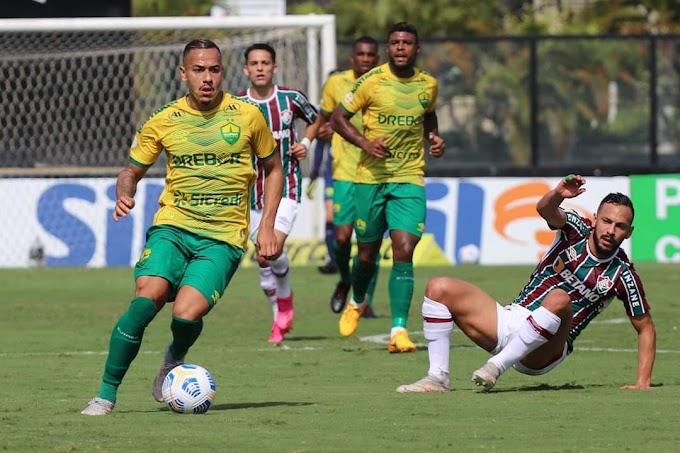 Campeonato Brasileiro: Cuiabá é derrotado pelo Fluminense