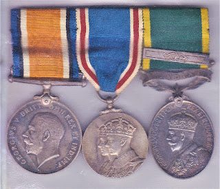 Fred Marsh's medals
