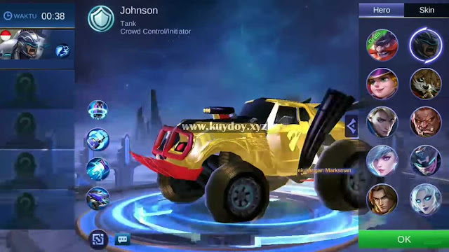 Download Script Skin Mod Johnson Tema Bumblebee Patch Terbaru