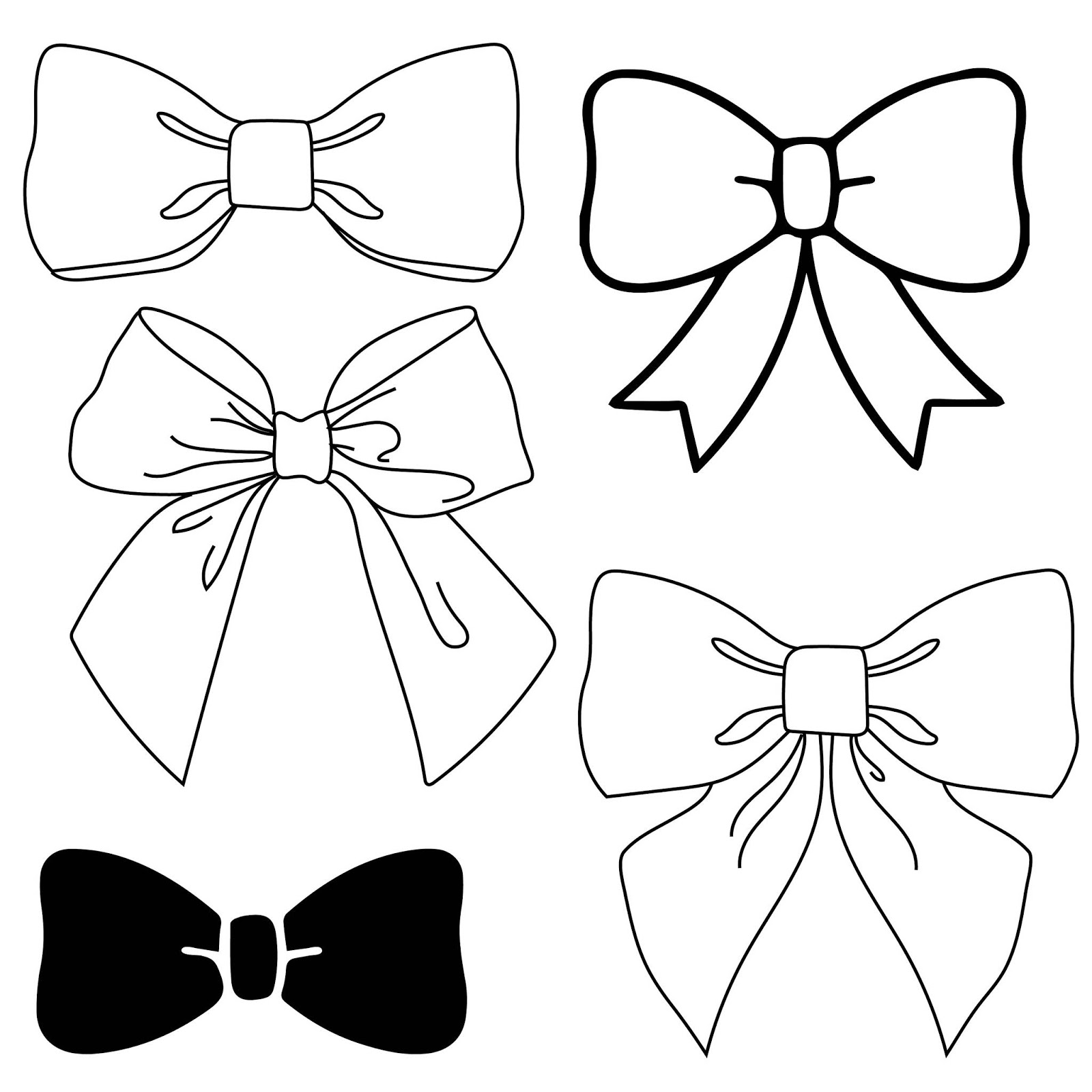 Download Free Bow Silhouette SVG DXF Cut File - Free DXF SVG ...